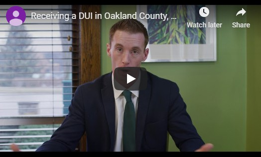 Video of attorney Mike Kelly sitting down and discussing details on a DUI's in Oakland County, Michigan
