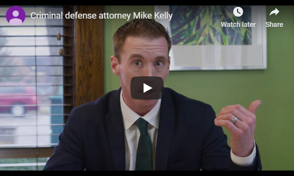 Video of attorney Mike Kelly sitting down and talking about criminal defense in the State of Michigan